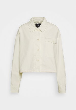 WOMENS POCKET UTILITY JACKET - Chaqueta fina - off white