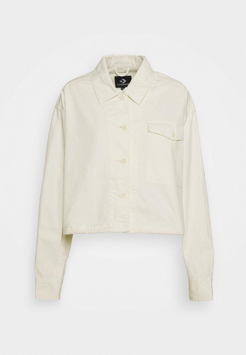 Converse - WOMENS POCKET UTILITY JACKET - Summer jacket - off white