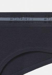 Esprit - GAMILIA HIPSTER 2 PACK  - Briefs - navy - 3