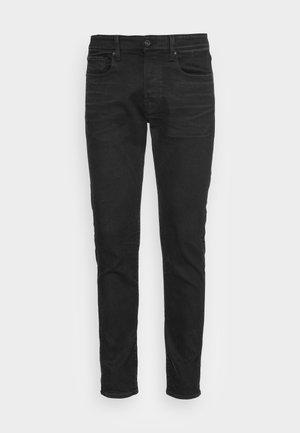 SLIM - Džíny Slim Fit - slander black  - worn in umber cobler