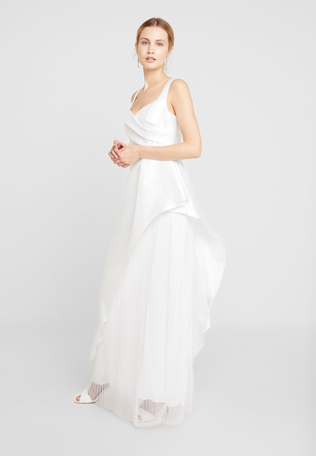 MIKADO LONG DRESS - Robe de cocktail - ivory
