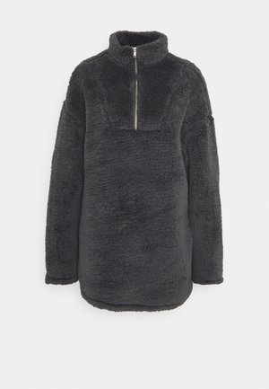 TEDDY DRESS - Vardagsklänning - offblack