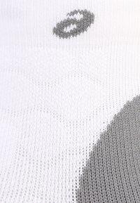 ASICS - ROAD QUARTER - Sports socks - real white - 1