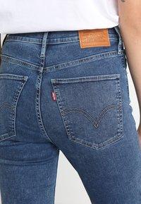 Levi's® - MILE HIGH SUPER SKINNY - Jeans Skinny Fit - blue denim - 4