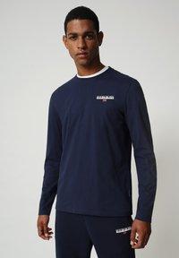 Napapijri - S-ICE LS - Långärmad tröja - medieval blue - 0
