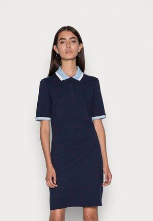 Day dress - navy blue/flour-creek