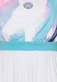 BIDI BADU - ANKEA TECH DRESS - Sports dress - white/aqua - 5