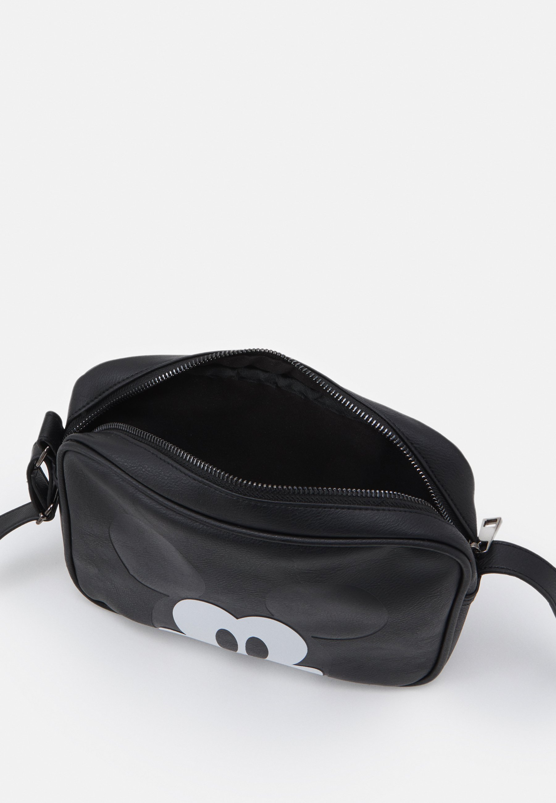 Kidzroom SHOULDER BAG MICKEY MOUSE MOST WANTED ICON - Skulderveske - black/svart UXuCuNNGpgPqNnp