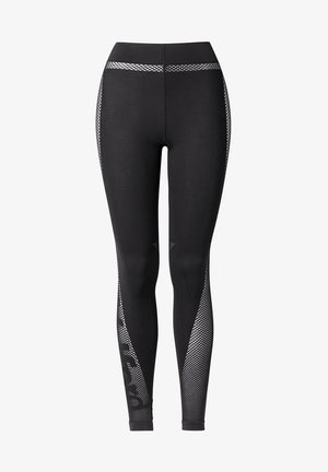 LOGO SPIRIT - Leggings - Trousers - black