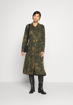 VEST MONTSE - Day dress - verde militar