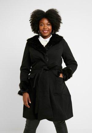 EXCLUSIVE COAT MAKE ME BLUSH - Classic coat - black