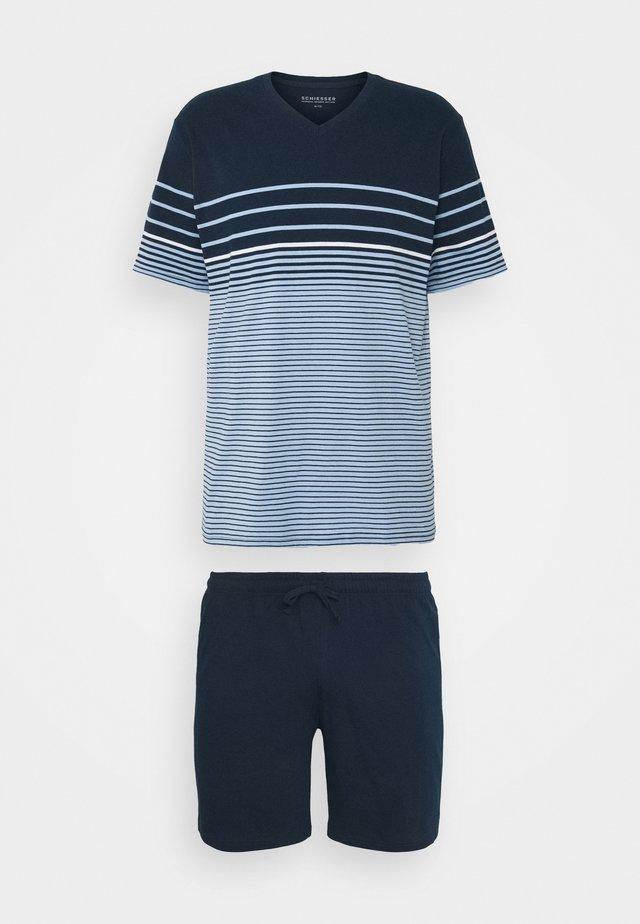 SET - Pyjamas - hellblau