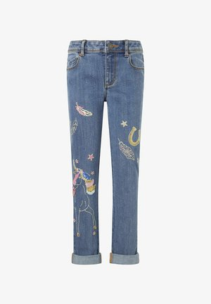 UNICORN  - Jeans straight leg - blue
