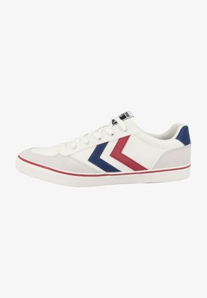 Trainers - white-blue-red-gum