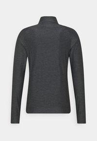 Mizuno - Training jacket - black melange - 1