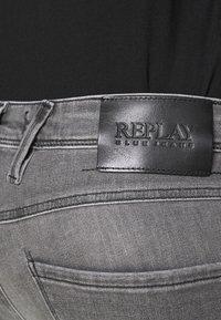 Replay - ANBASS XLITE - Slim fit jeans - medium grey - 3