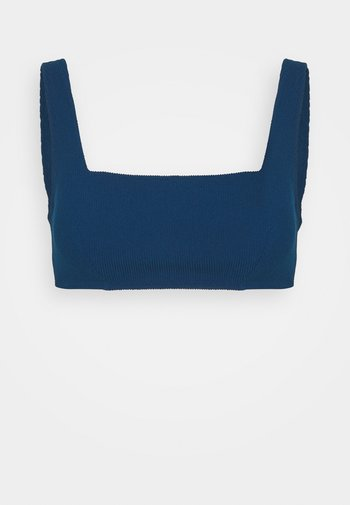 ELISA BRASSIERE - Bikini top - bleu nuit