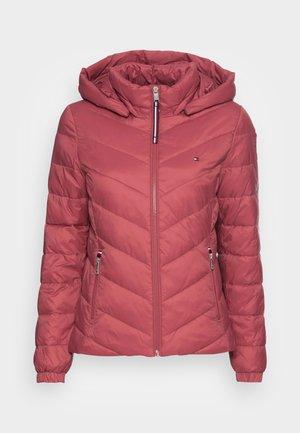 SORONA  PADDED JACKET - Light jacket - misty red