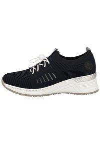 Rieker - RIEKER SNEAKER - Sneakers basse - navy/pazifik 14 - 0