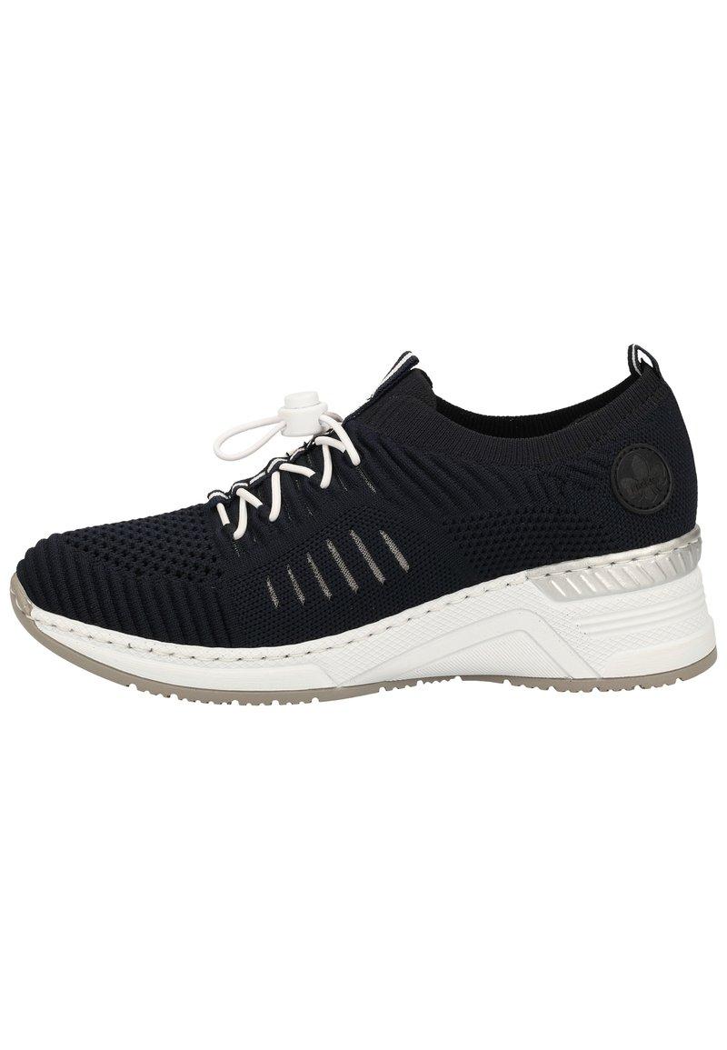 Rieker - RIEKER SNEAKER - Sneakers basse - navy/pazifik 14
