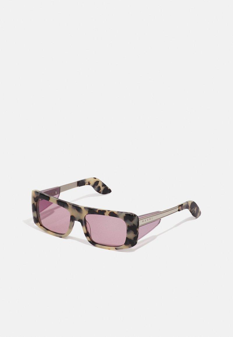 Marni - UNISEX - Sluneční brýle - light milky havana