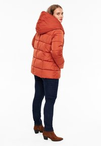 Triangle - MIT SCHALKRAGEN - Winter jacket - orange - 2