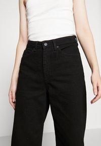 Monki - Relaxed fit jeans - black dark - 3