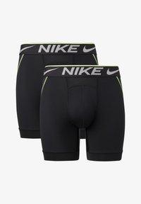 Nike Sportswear - 2 PACK - Pants - black / black - 0