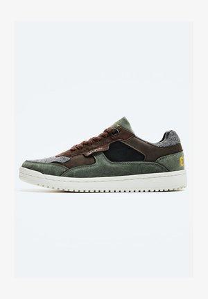 KURT TWEED - Sneakers laag - verde caqui