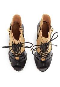 Kazar - MEGAN - High heeled ankle boots - brown - 3