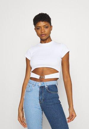 BLOSSOM - Print T-shirt - white
