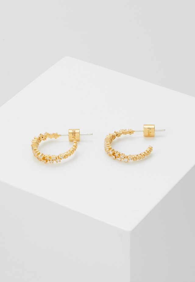 MYSTIC STAR HOOPS - Orecchini - gold-coloured