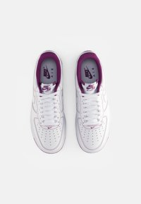 Nike Sportswear - AIR FORCE 1 STITCH - Zapatillas - white/white-viotech - 3