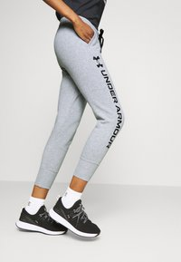 Under Armour - RIVAL SHINE JOGGER - Spodnie treningowe - steel medium heather - 3