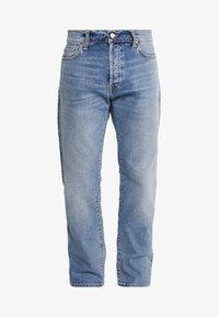 Carhartt WIP - KLONDIKE MILLS - Straight leg jeans - blue worn bleached - 4