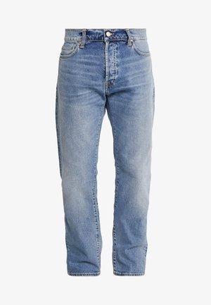 KLONDIKE MILLS - Straight leg jeans - blue worn bleached