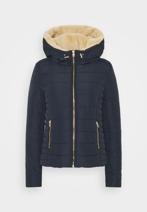 ONLSHELLY HOODED JACKET - Veste mi-saison - night sky