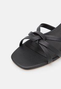 MICHAEL Michael Kors - BRINKLEY  - Sandals - black - 6
