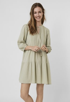 BOHO - Day dress - desert sage