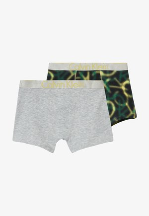 TRUNKS 2 PACK - Pants - green