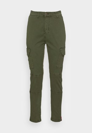 AGENT  - Cargo trousers - dark olive