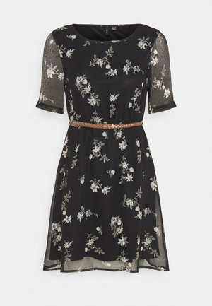 VMFALLIE BELT DRESS - Vardagsklänning - black