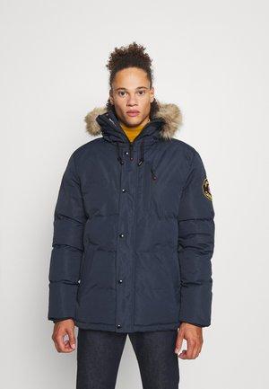OSHAWA PADDED PARKA - Winter coat - navy