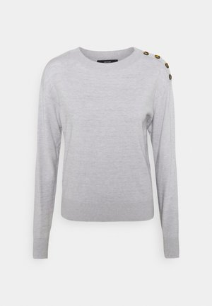 VMCHIPKARISARA ONECK - Pullover - light grey melange