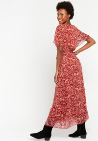 LolaLiza - WITH FLOWER PRINT - Maxi dress - red - 2