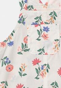 Carter's - SHORTALL FLOR SET - T-shirt basique - white/light pink - 2