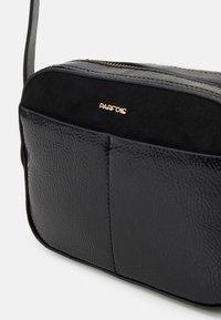 PARFOIS - CROSSBODY BAG MYSTERY - Across body bag - black - 3