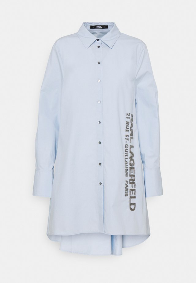 EMBELLISHED  - Button-down blouse - cashmere blue