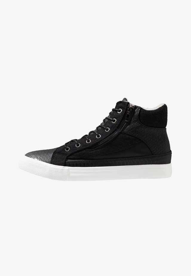SMITH - High-top trainers - black