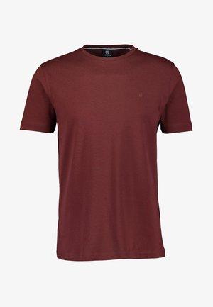 MIT RUNDHALSAUSSCHNITT  - Basic T-shirt - burnt red
